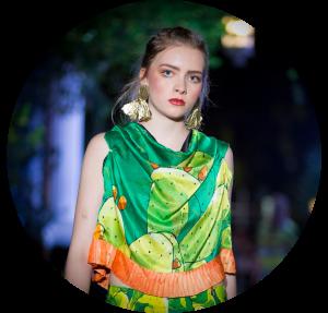 Pasarela Carmen Rion Eco Fashion Fest 2017 Nina Flores Capital Model Management Moda Sustentable México